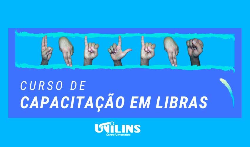 Curso de Libras começa em 23 de novembro - UNILINS