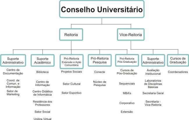 Estrutura Executiva - UNILINS