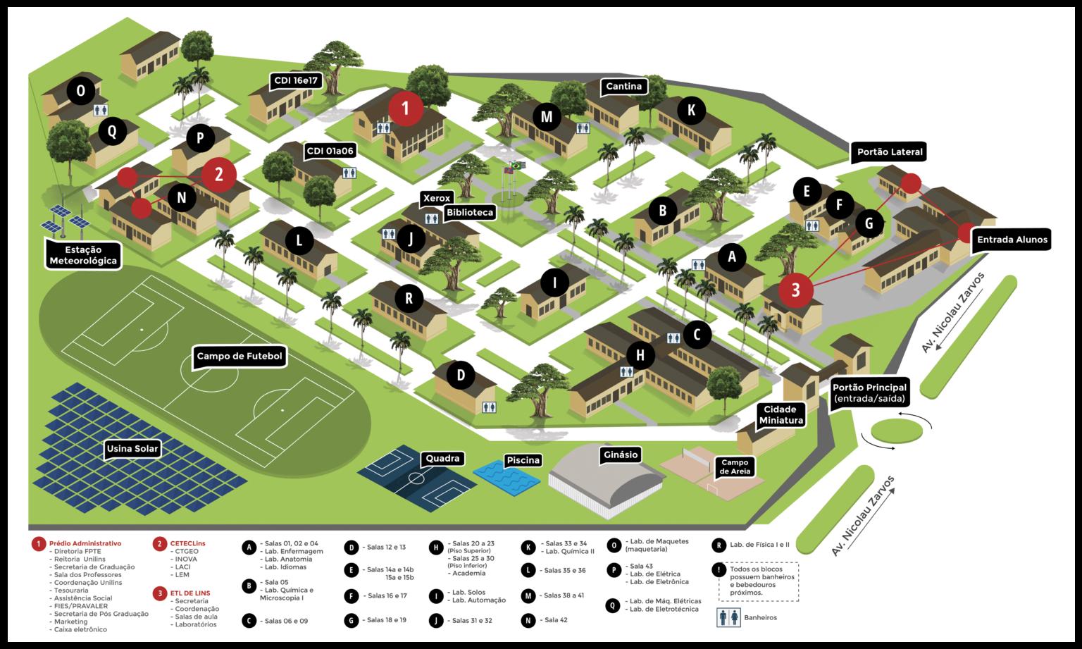 Conheça nosso Campus - UNILINS