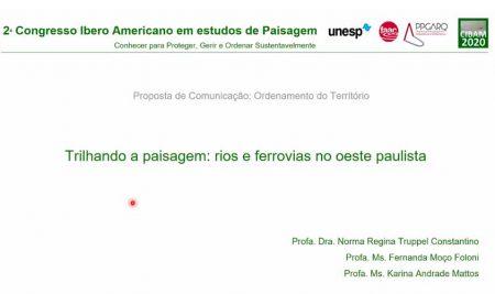 Professoras de Arquitetura apresentam trabalho em Congresso Íbero Americano