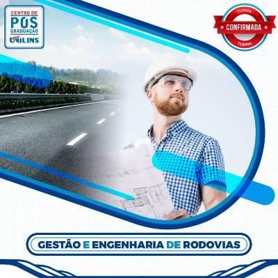 Pós-Graduação em Gestão e Engenharia de Rodovias - UNILINS