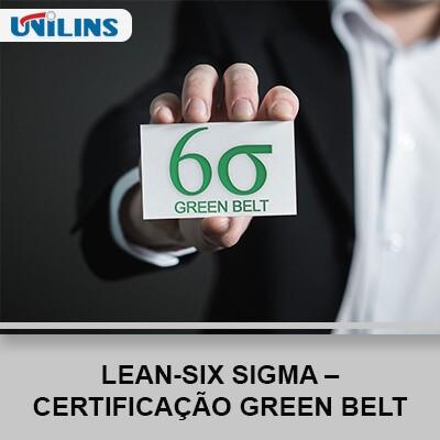 Lean-Six Sigma – Certificação Green Belt - UNILINS