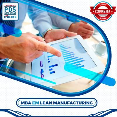MBA em Lean Manufacturing - UNILINS