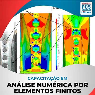 Análise Numérica por Elementos Finitos - UNILINS
