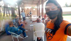 Projeto Cinema Rola Cine para comunidade - UNILINS
