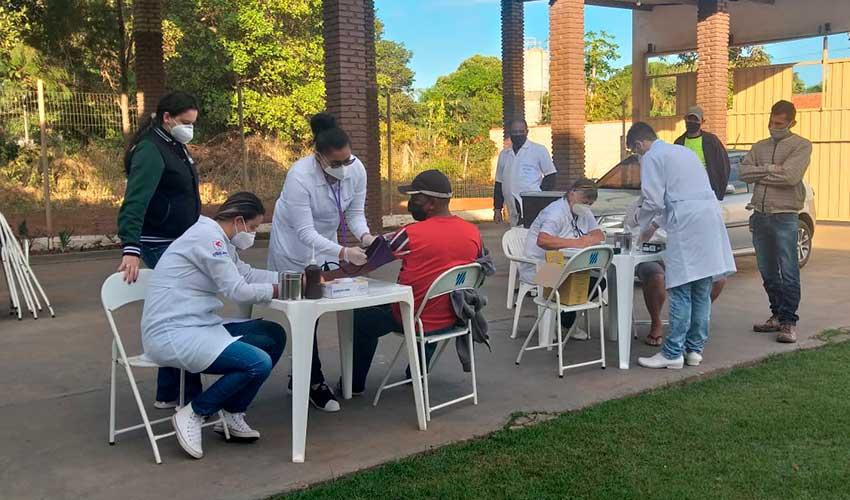 Ação da Enfermagem na Comunidade - UNILINS