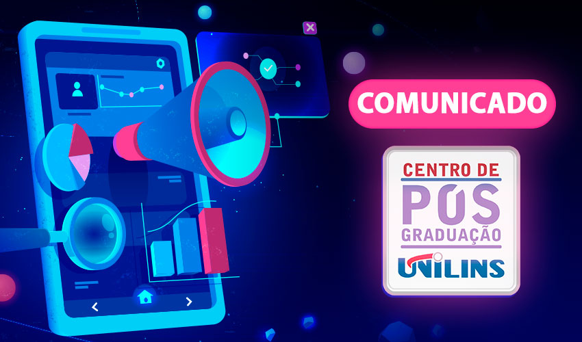 Comunicado – Pró-Reitoria de Pós-Graduação - UNILINS
