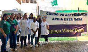 Enfermagem realiza diversas ações para comemorar o Dia Internacional da Mulher - UNILINS