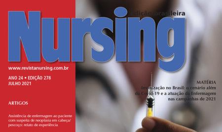 Professores e alunos de Enfermagem publicam artigo na revista Nursing