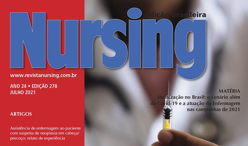 Professores e alunos de Enfermagem publicam artigo na revista Nursing - UNILINS