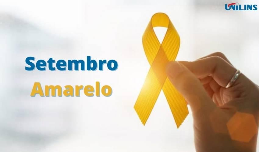 Setembro Amarelo alerta para o suicídio - UNILINS