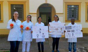 Enfermagem realizou atividades educativas sobre o COVID19 - UNILINS