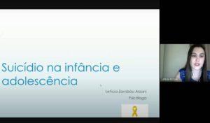 Cursos de Enfermagem e Farmácia realizam atividade relacionada ao Setembro Amarelo - UNILINS
