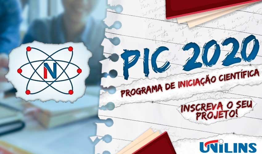Programa de Iniciação Científica 2020 (PIC) - UNILINS