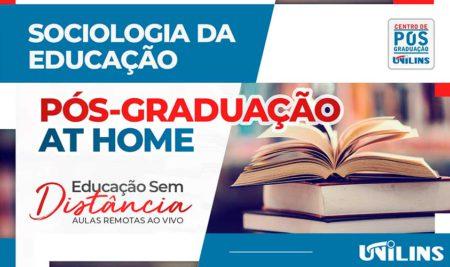 Sociologia da Educação é novo curso de Pós-Graduação na Unilins