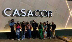 Alunos fazem visita técnica na Mostra de Decoração CasaCor em São Paulo - UNILINS