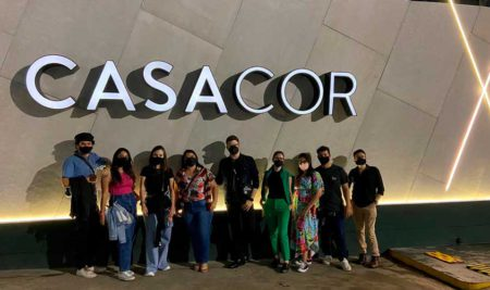 Alunos fazem visita técnica na Mostra de Decoração CasaCor em São Paulo